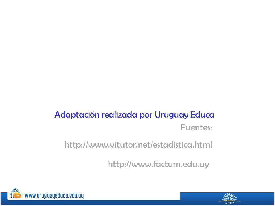 Adaptación realizada por Uruguay Educa