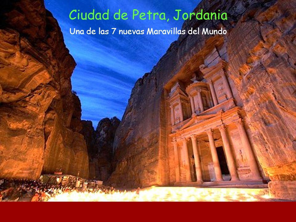 Ciudad de Petra, Jordania