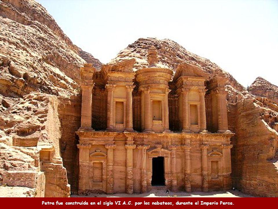 Petra fue construida en el siglo VI A. C