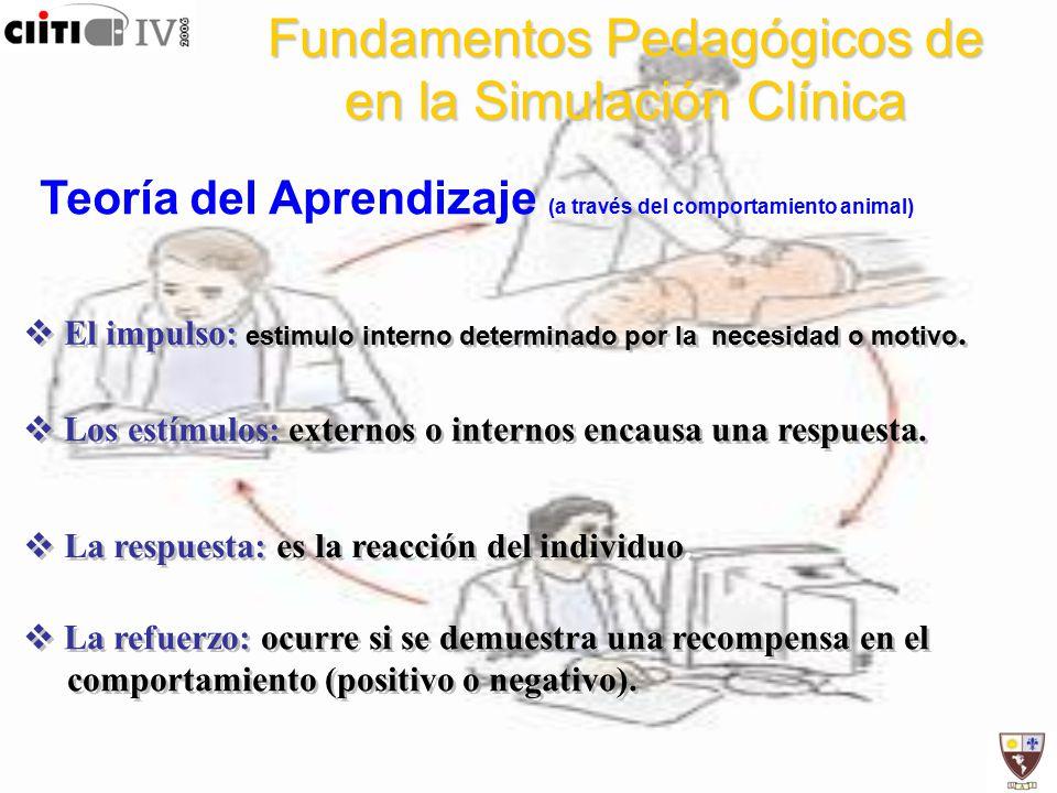 Fundamentos Pedagógicos de en la Simulación Clínica