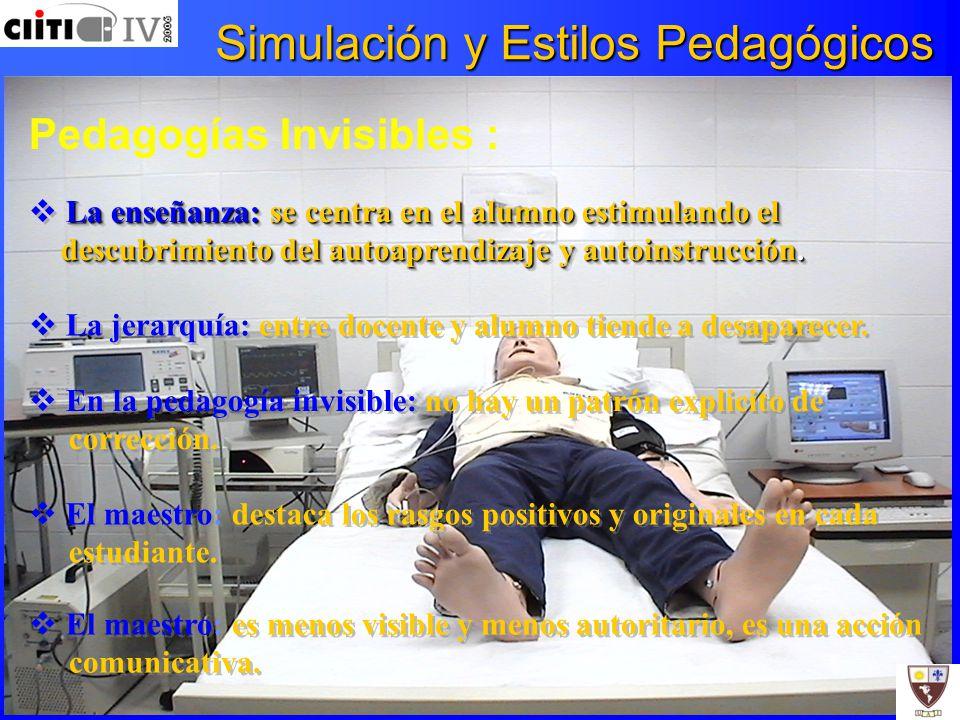Simulación y Estilos Pedagógicos