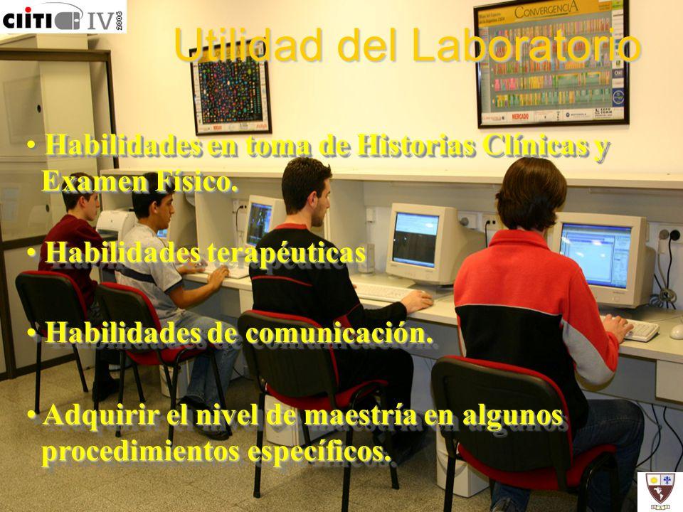 Utilidad del Laboratorio
