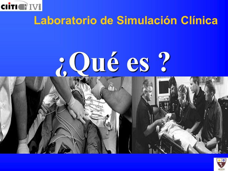 Laboratorio de Simulación Clínica