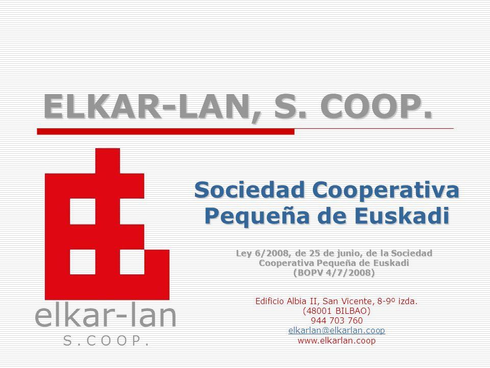 Sociedad Cooperativa Pequeña de Euskadi