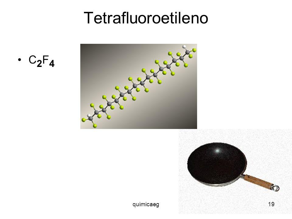 Tetrafluoroetileno C2F4 quimicaeg