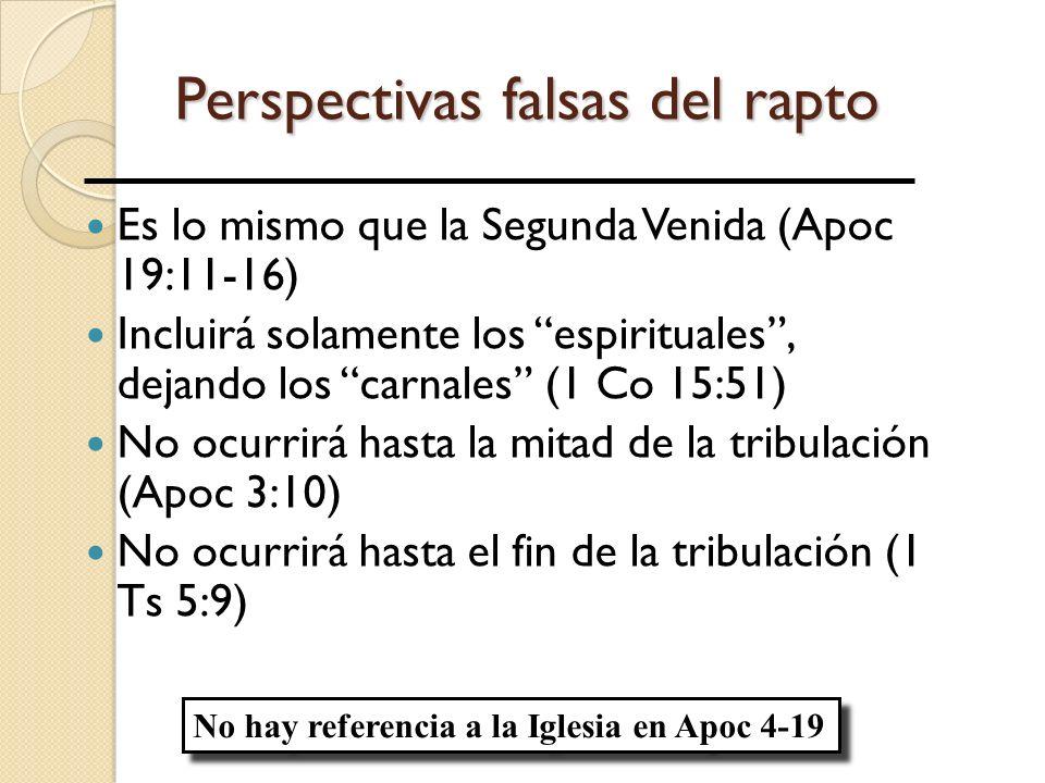 Perspectivas falsas del rapto