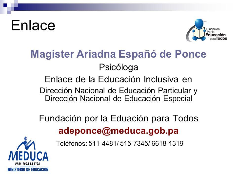 Magister Ariadna Españó de Ponce