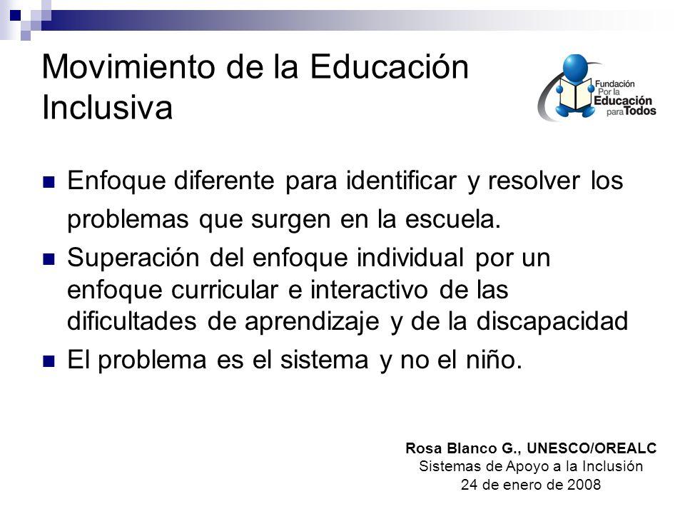 Movimiento de la Educación Inclusiva