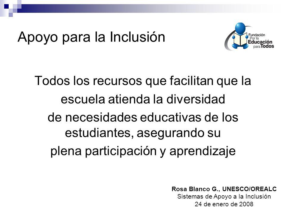 Apoyo para la Inclusión