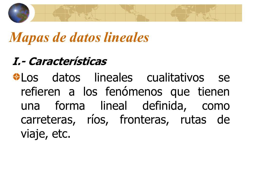 Mapas de datos lineales