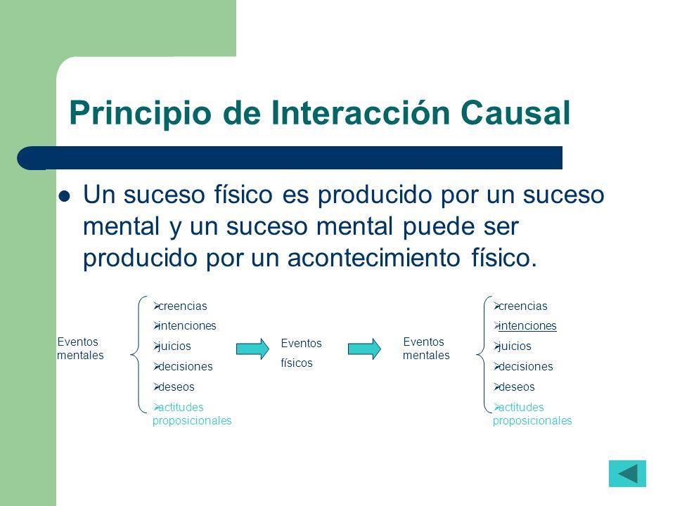 Principio de Interacción Causal