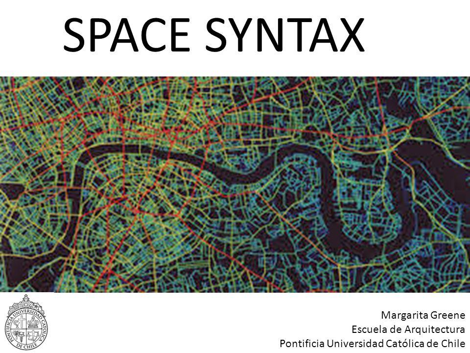 SPACE SYNTAX Margarita Greene Escuela de Arquitectura