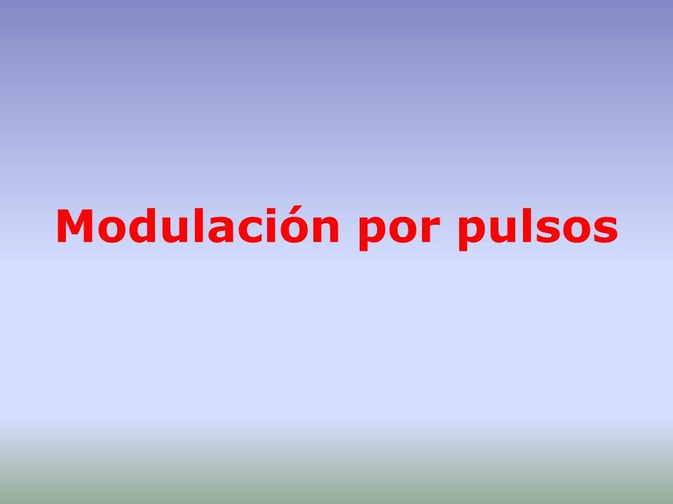 Modulación por pulsos