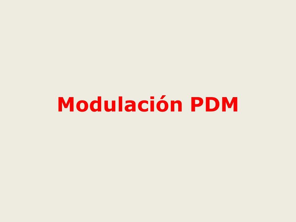 Modulación PDM