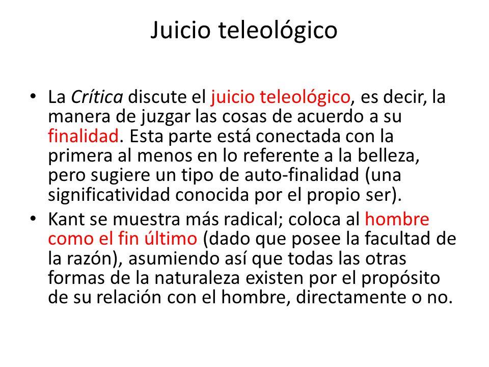 Juicio teleológico
