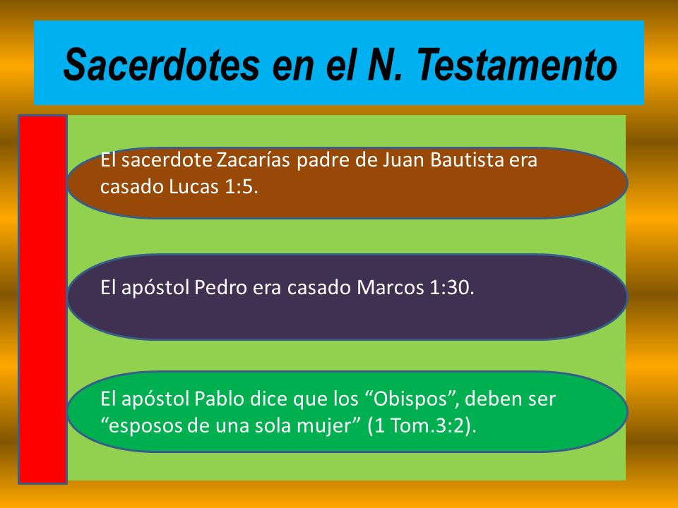 Sacerdotes en el N. Testamento