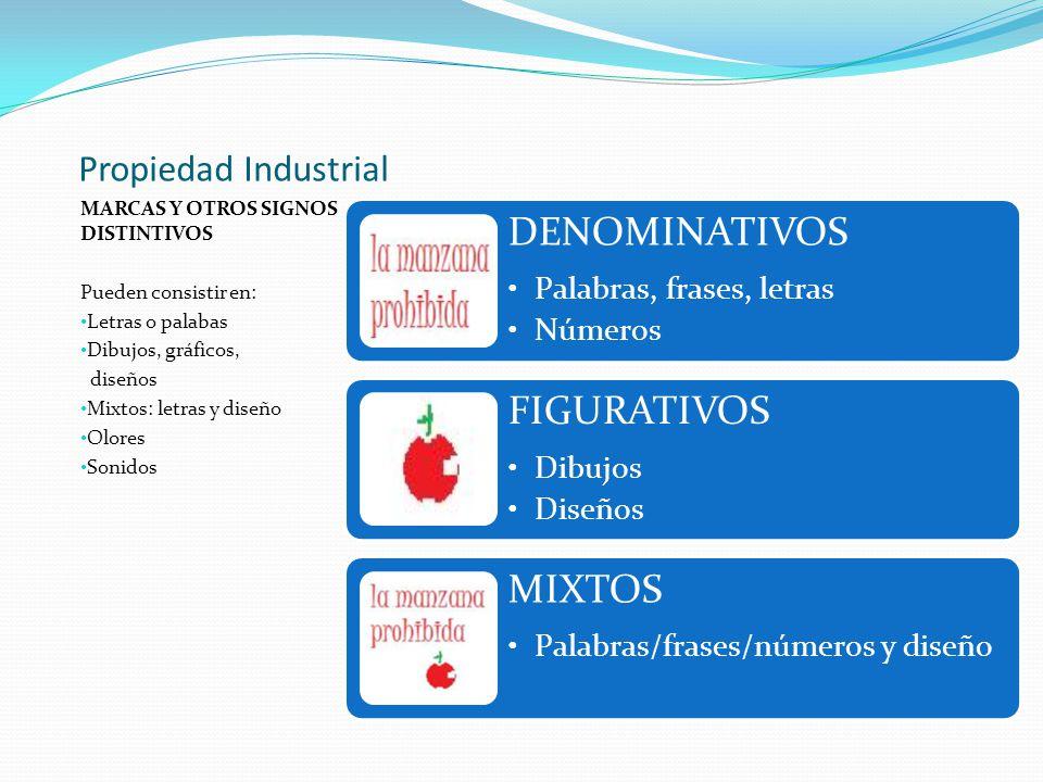 Propiedad Industrial MARCAS Y OTROS SIGNOS DISTINTIVOS