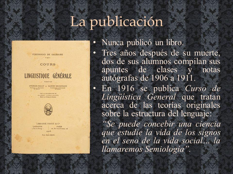 La publicación Nunca publicó un libro.