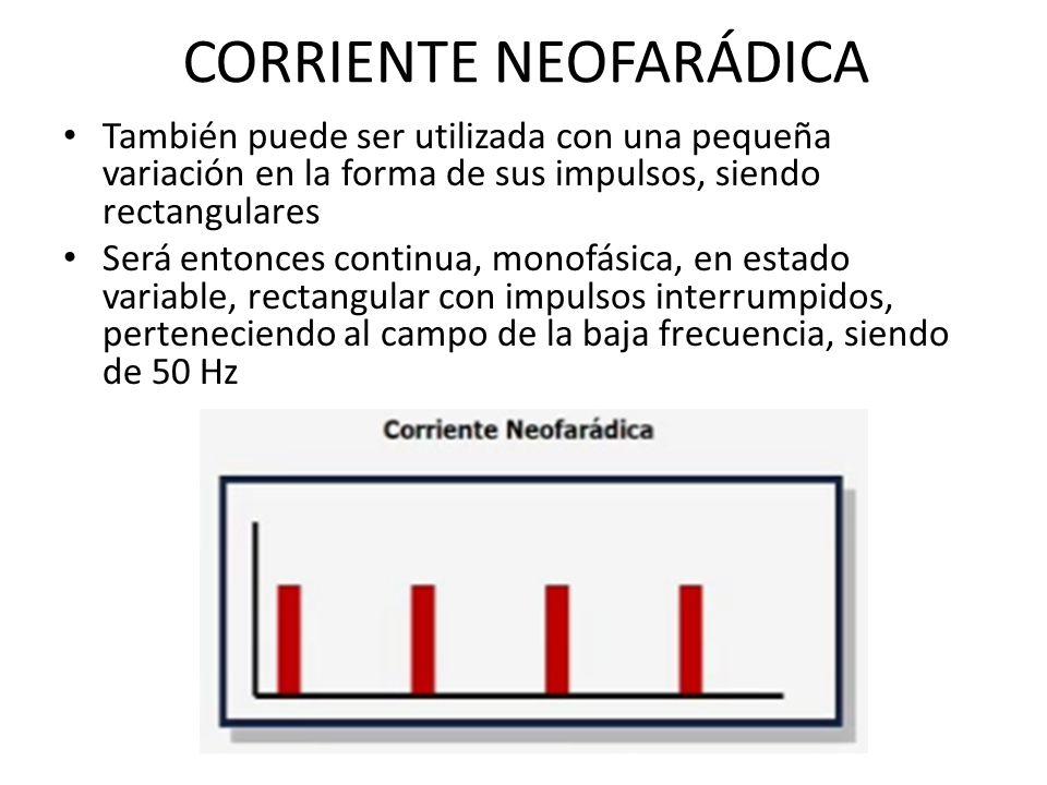 CORRIENTE NEOFARÁDICA