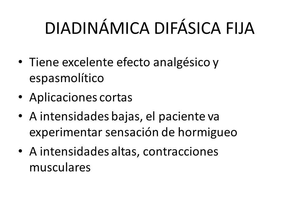 DIADINÁMICA DIFÁSICA FIJA