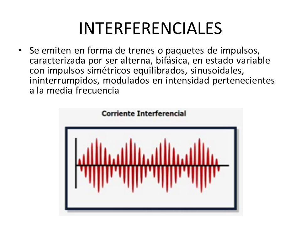 INTERFERENCIALES