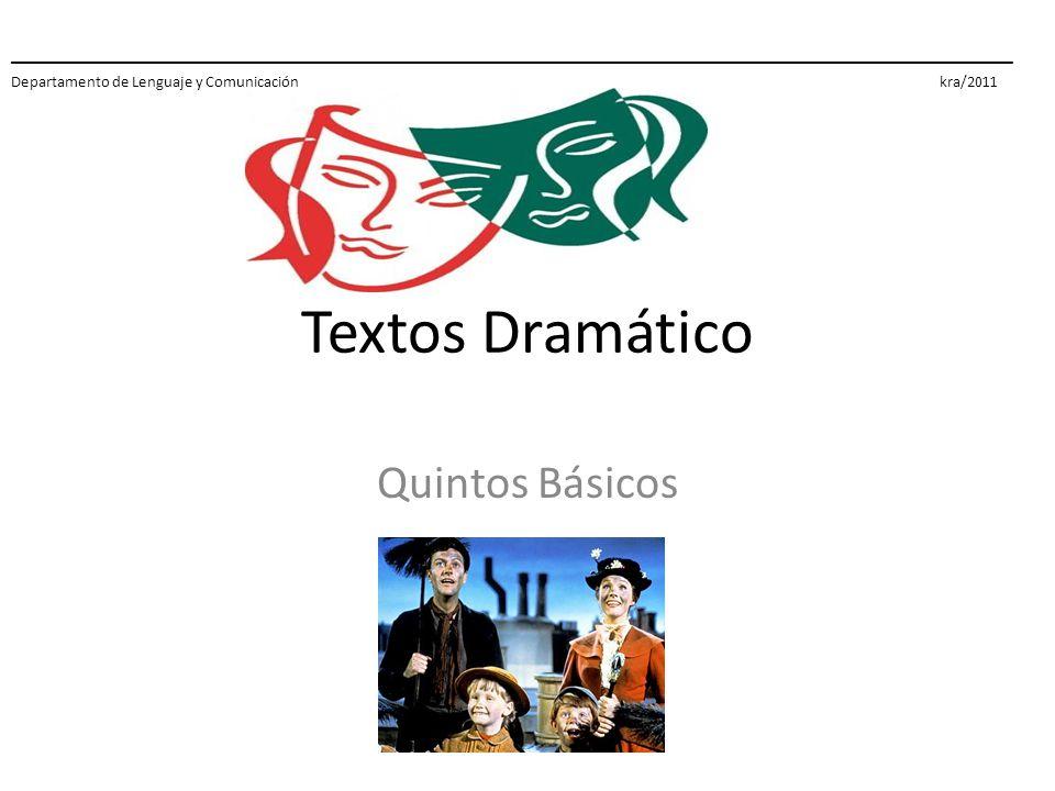 Textos Dramático Quintos Básicos