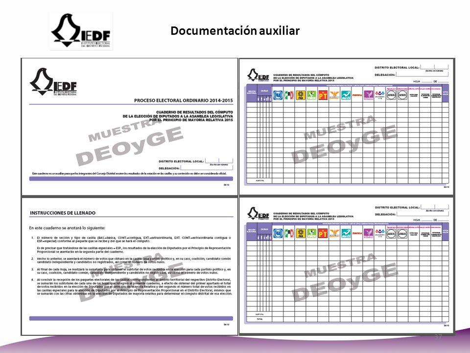 Documentación auxiliar