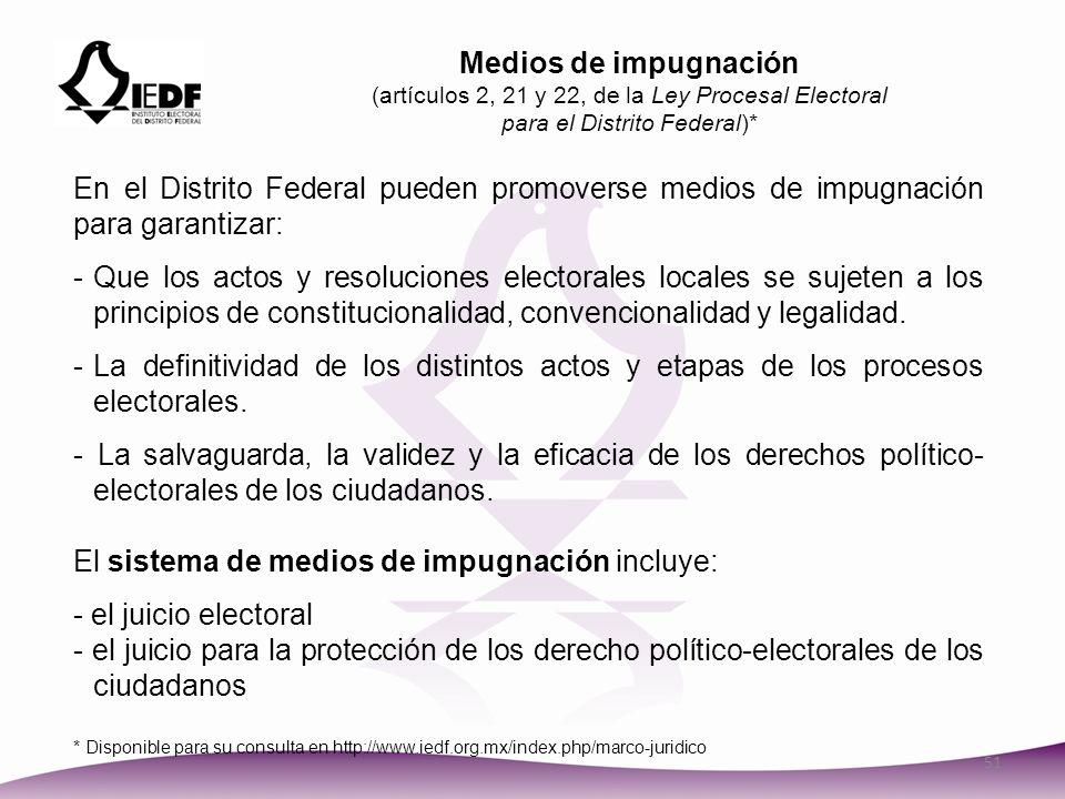 El sistema de medios de impugnación incluye: - el juicio electoral