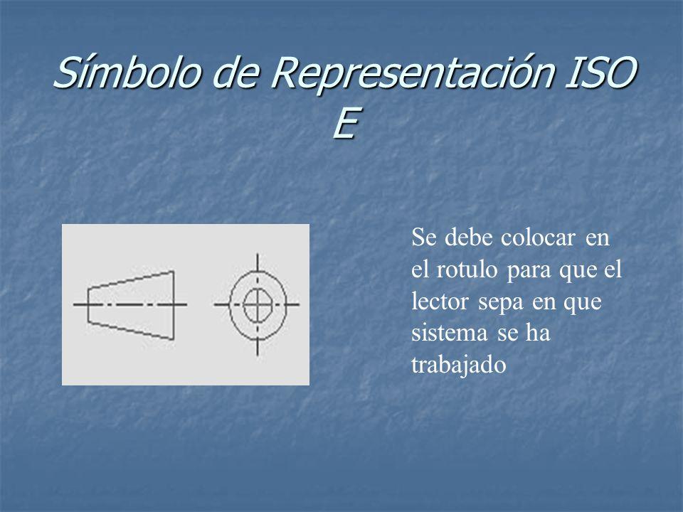 Símbolo de Representación ISO E