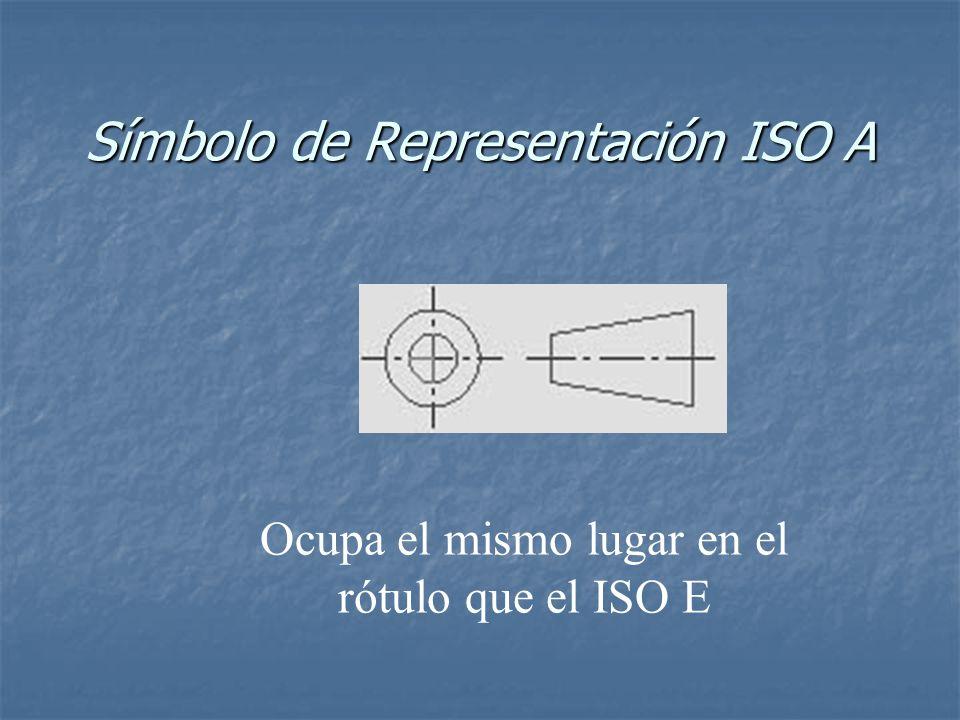 Símbolo de Representación ISO A