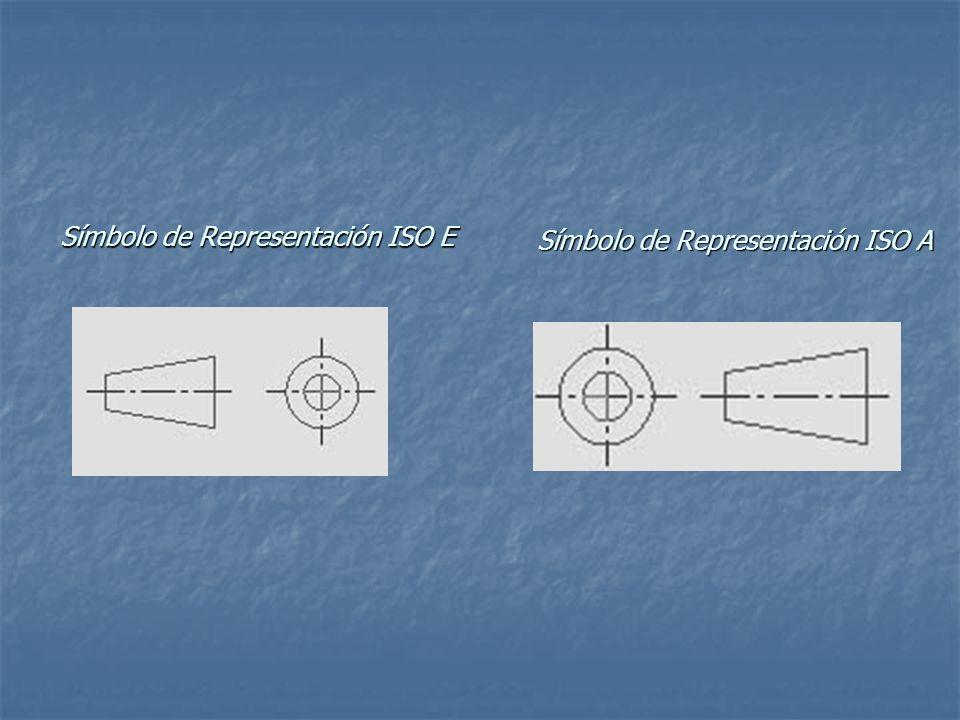 Símbolo de Representación ISO E Símbolo de Representación ISO A
