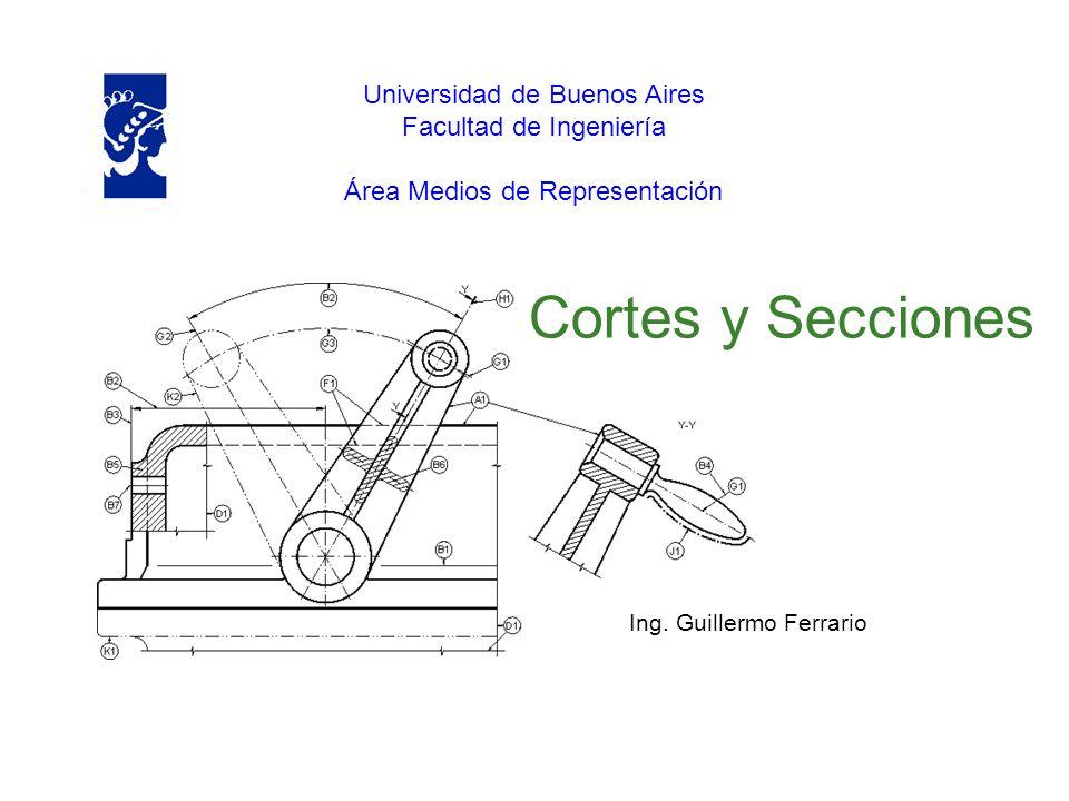 Cortes y Secciones Universidad de Buenos Aires Facultad de Ingeniería