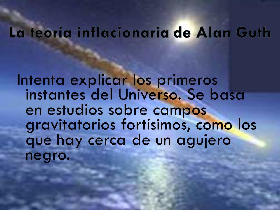 La teoría inflacionaria de Alan Guth