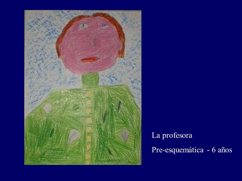 La profesora Pre-esquemática - 6 años