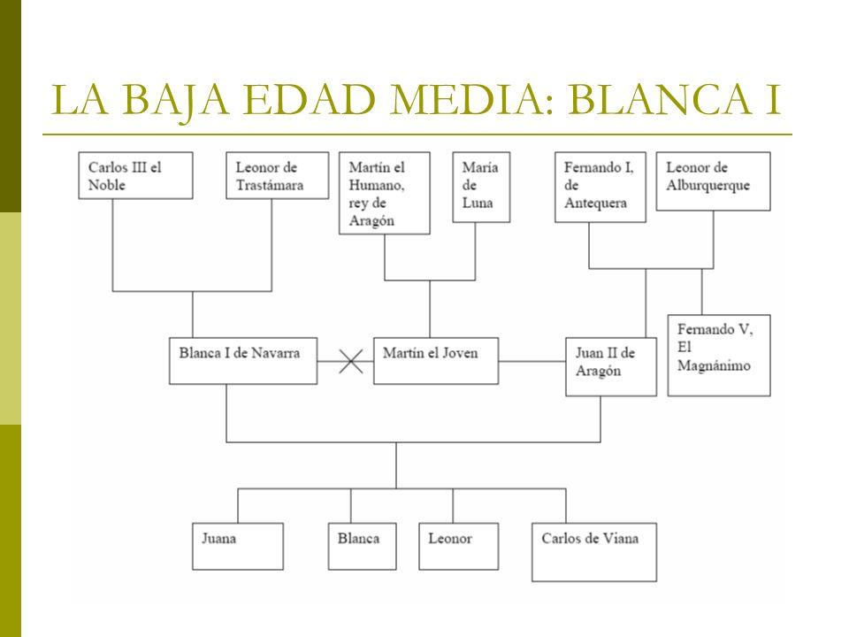 LA BAJA EDAD MEDIA: BLANCA I