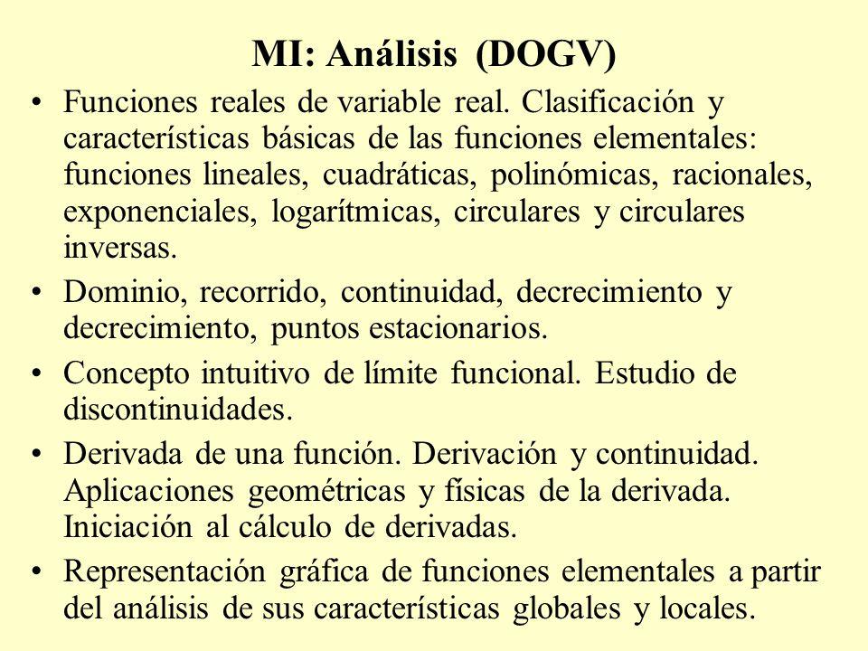 MI: Análisis (DOGV)