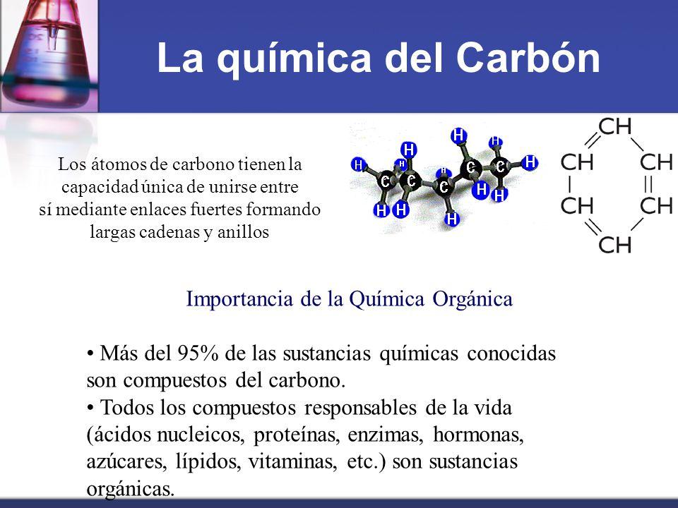 La química del Carbón Importancia de la Química Orgánica