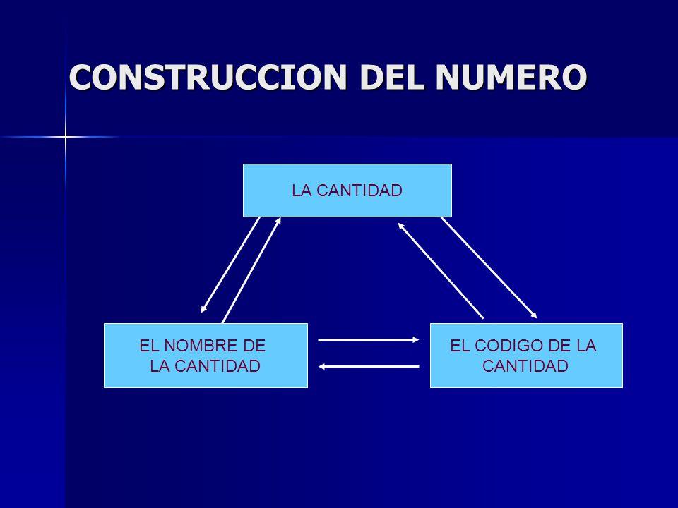 CONSTRUCCION DEL NUMERO