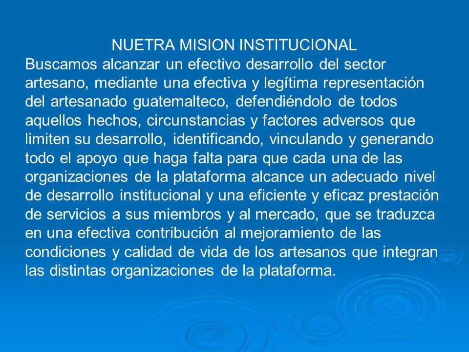 NUETRA MISION INSTITUCIONAL