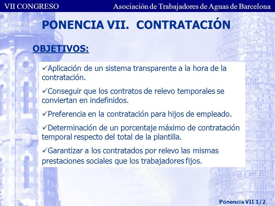 PONENCIA VII. CONTRATACIÓN