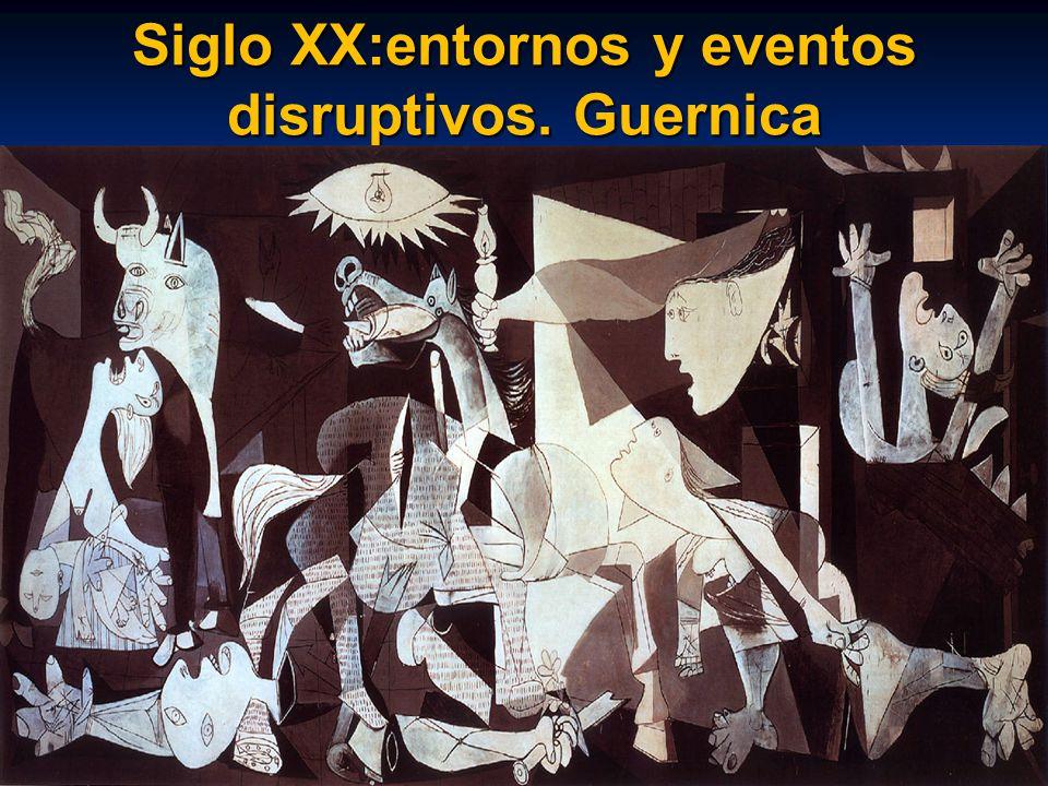 Siglo XX:entornos y eventos disruptivos. Guernica