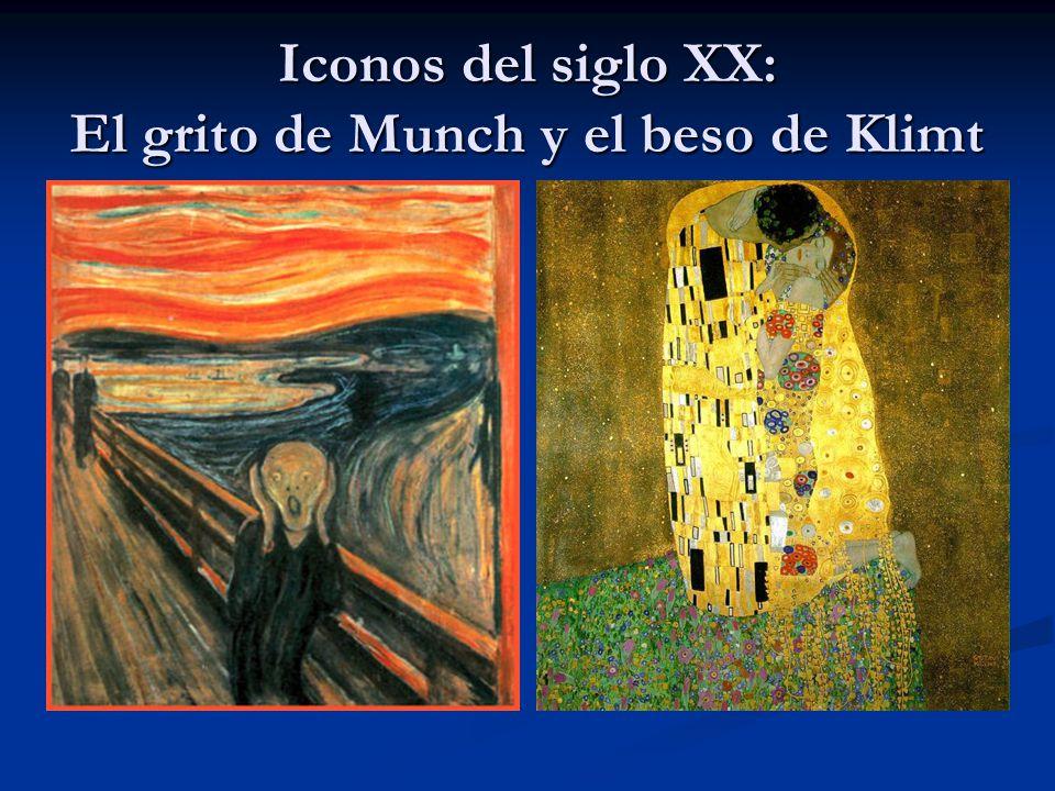 Iconos del siglo XX: El grito de Munch y el beso de Klimt