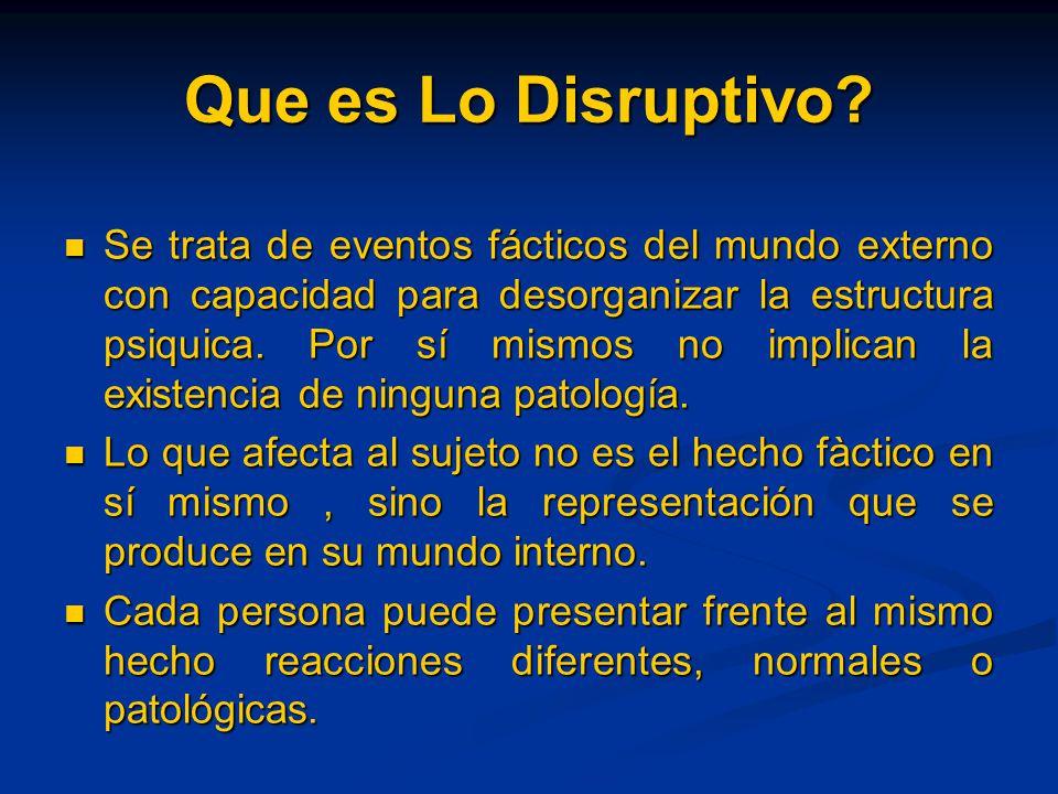 Que es Lo Disruptivo