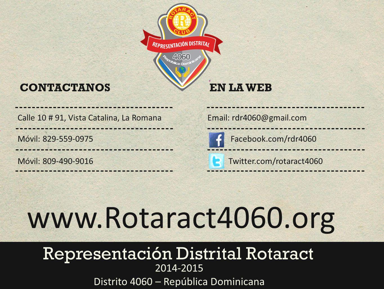 Distrito 4060 – República Dominicana