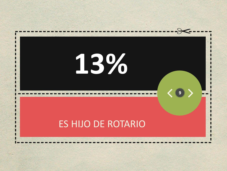 13% ----------------------------------------- ------