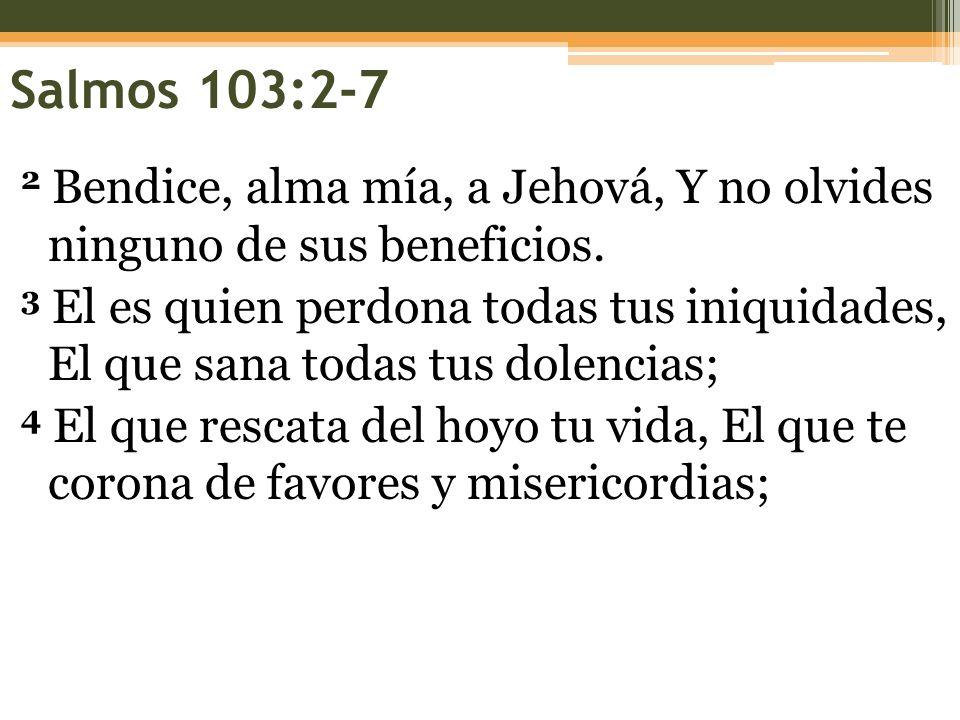 Salmos 103:2-7