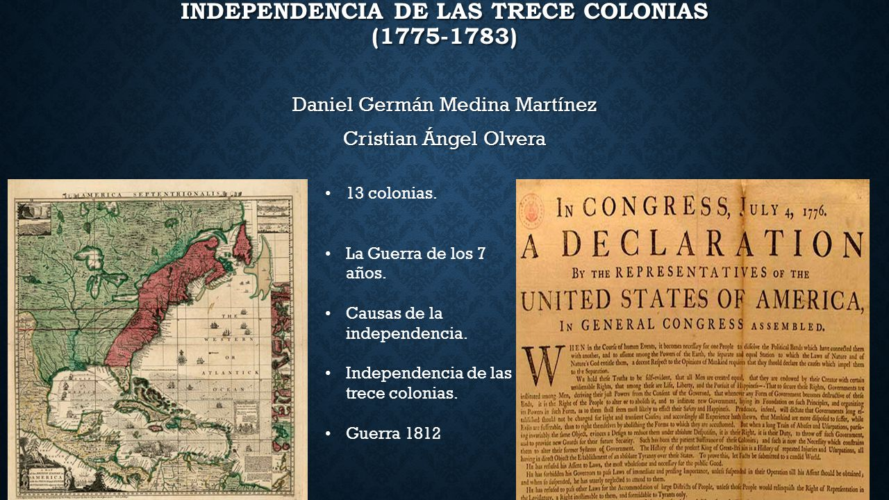 Independencia de las Trece Colonias (1775-1783)