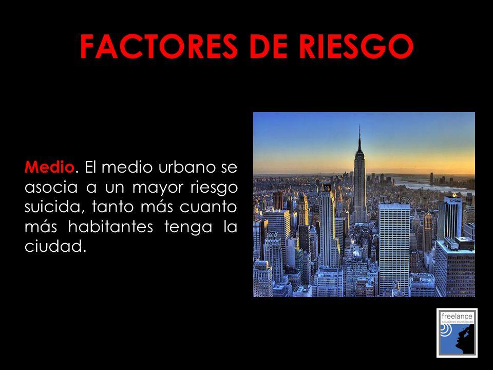 FACTORES DE RIESGO Medio.