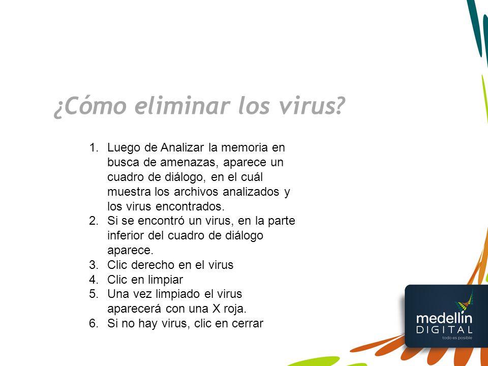 ¿Cómo eliminar los virus