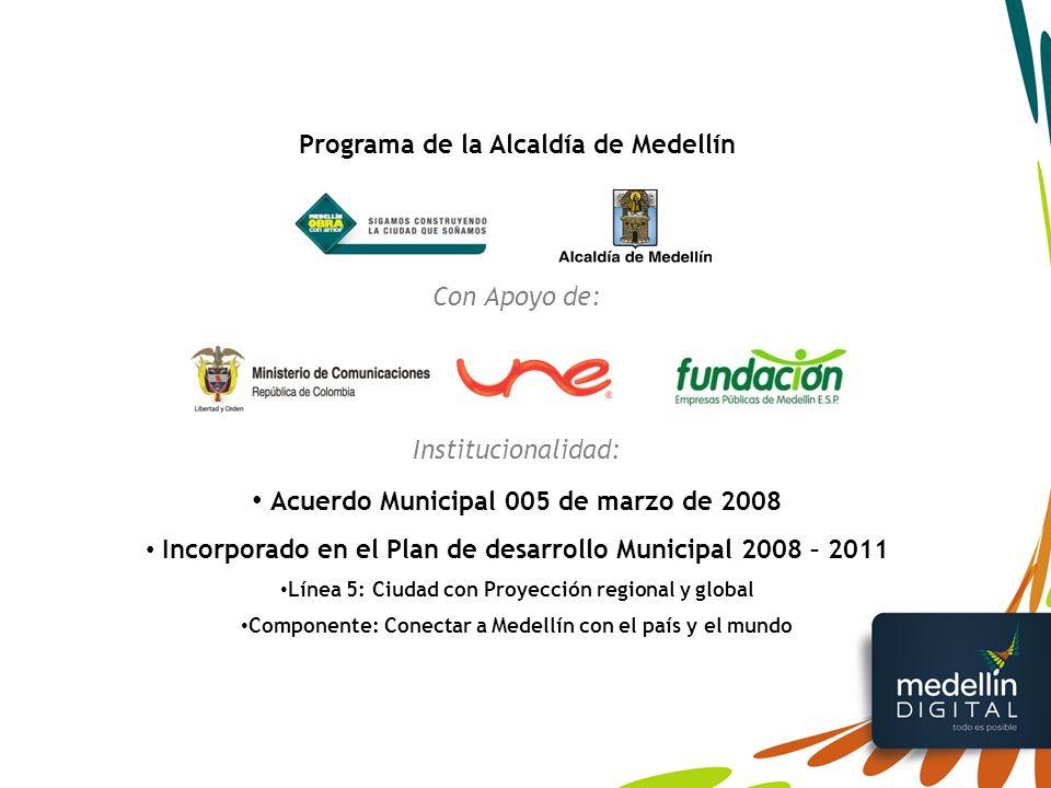 Acuerdo Municipal 005 de marzo de 2008